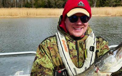 HYLJE-vuokraamo pukee kalastajat